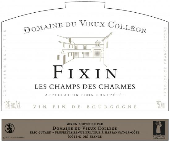 FIXIN <br/> LES CHAMPS DES  CHARMES