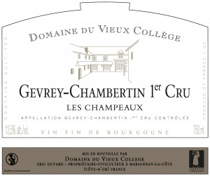 GEVREY-CHAMBERTIN 1er CRU <br/> LES CHAMPEAUX