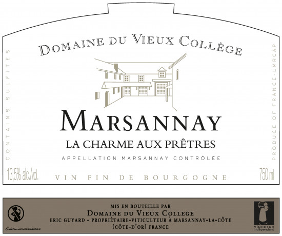 MARSANNAY <br/> LA CHARME AUX PRETRES