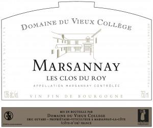 MARSANNAY <br/> LES CLOS DU ROY