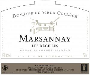 MARSANNAY <br/> LES RECILLES